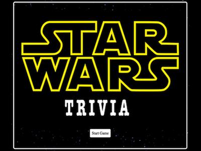 Star Wars App (jQuery)